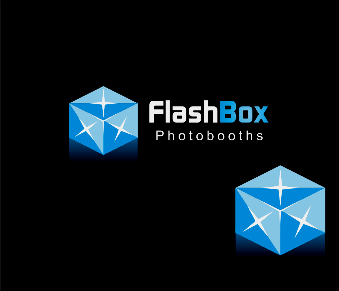 Logo Design by Armada Jamaluddin - Entry No. 91 in the Logo Design Contest New Logo Design for FlashBox Photobooths.