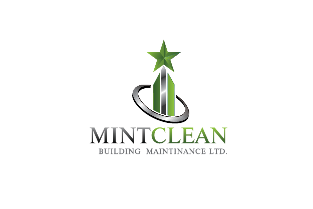 Logo Design by Private User - Entry No. 121 in the Logo Design Contest MintClean Building Maintenance Ltd. Logo Design.