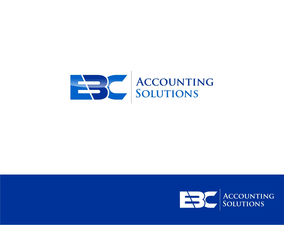 Logo Design by haidu - Entry No. 7 in the Logo Design Contest New Logo Design for EBC Accounting Solutions.