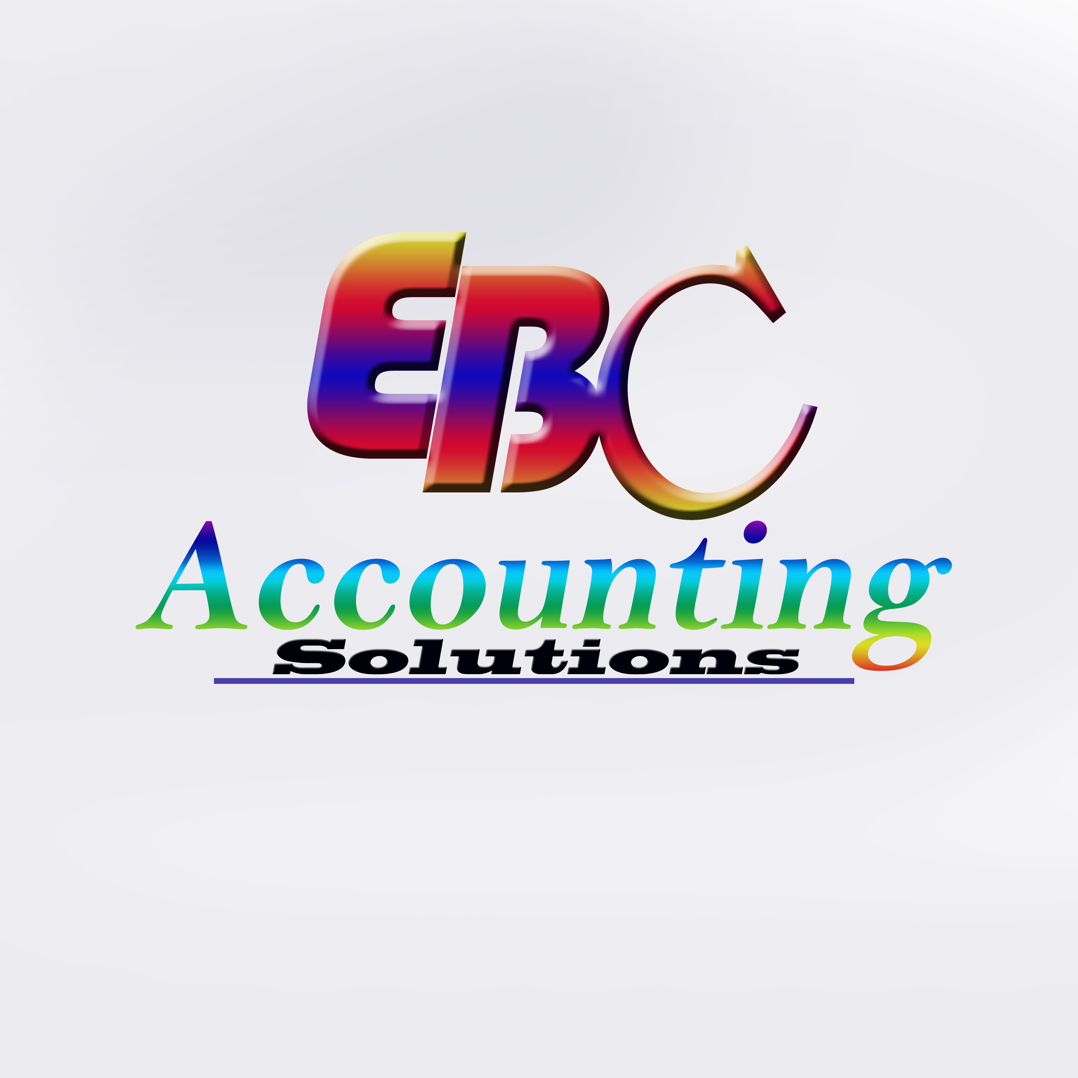 Logo Design by Roberto Sibbaluca - Entry No. 10 in the Logo Design Contest New Logo Design for EBC Accounting Solutions.