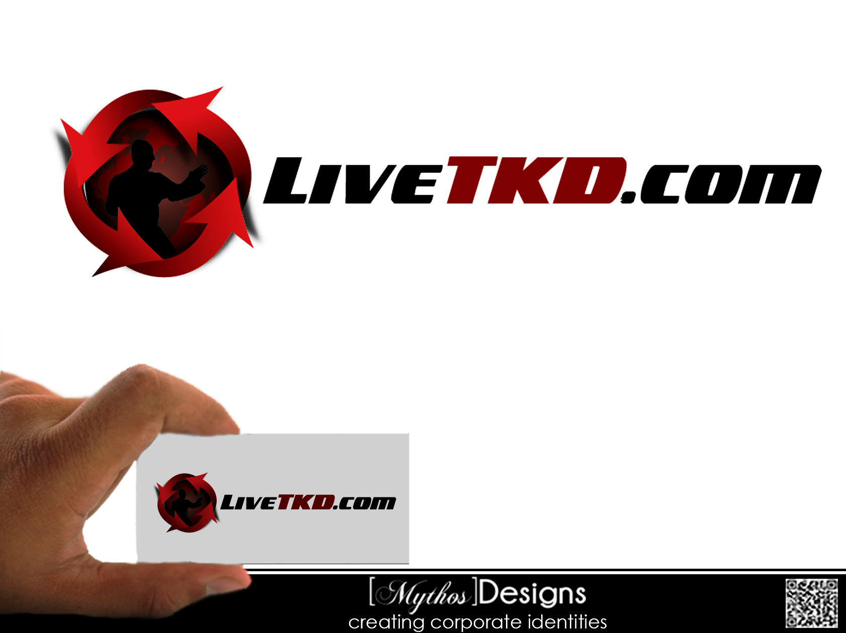 Logo Design by Mythos Designs - Entry No. 1 in the Logo Design Contest New Logo Design for LiveTKD.com.
