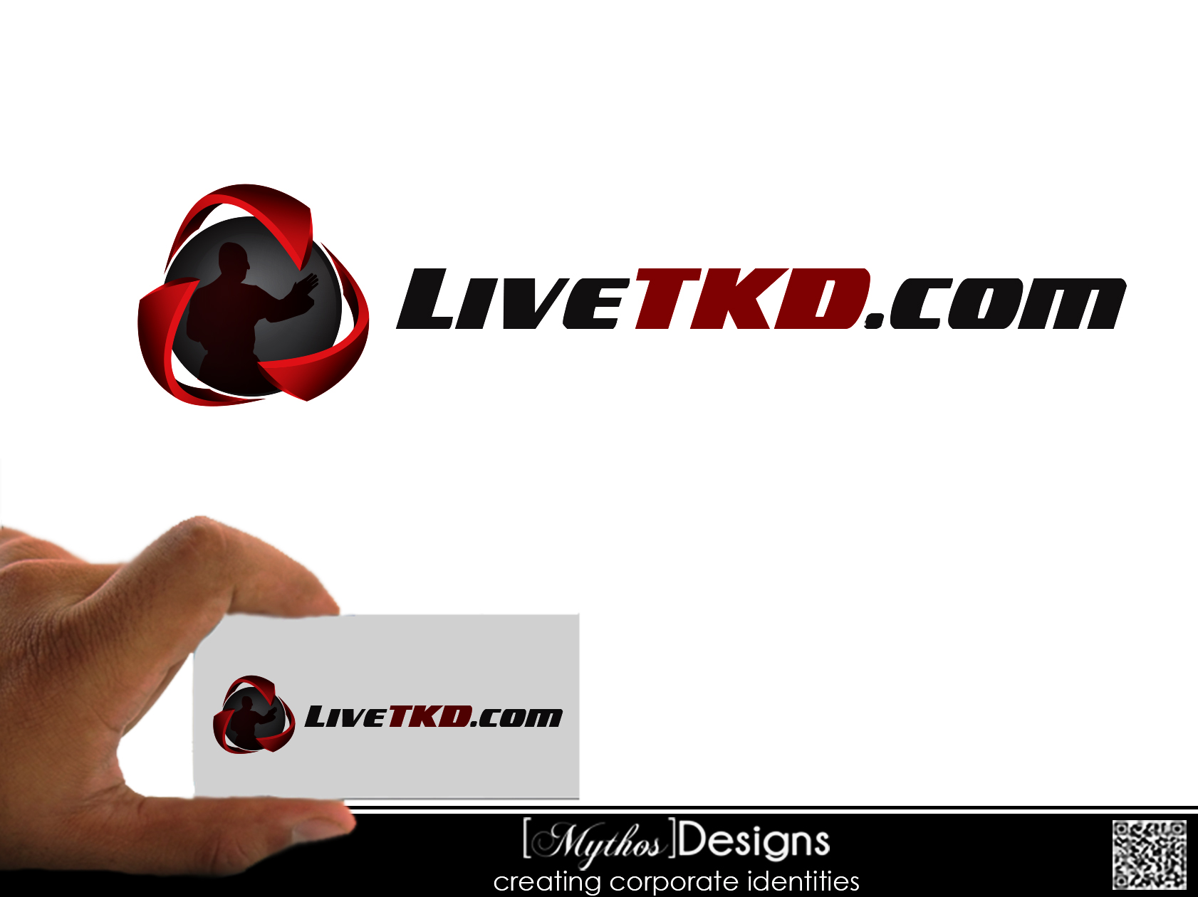Logo Design by Mythos Designs - Entry No. 2 in the Logo Design Contest New Logo Design for LiveTKD.com.