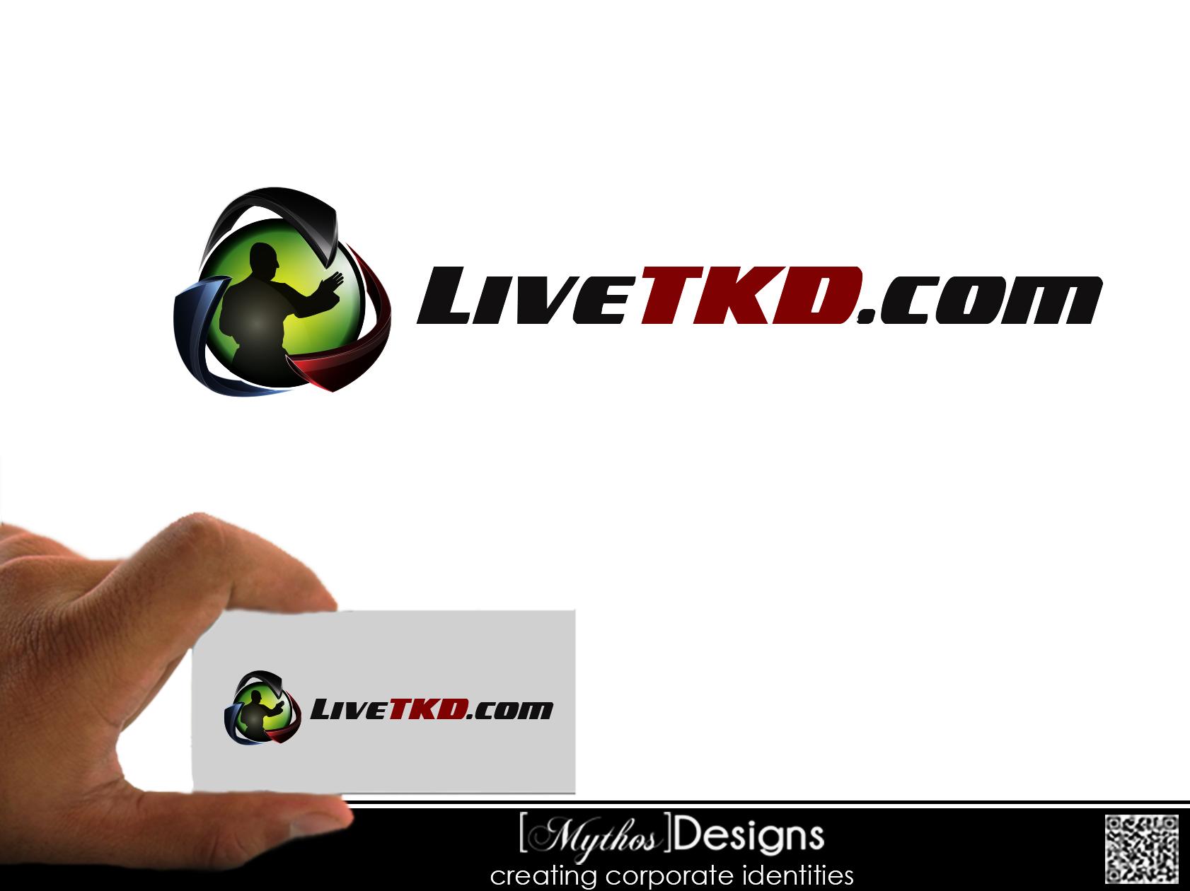 Logo Design by Mythos Designs - Entry No. 3 in the Logo Design Contest New Logo Design for LiveTKD.com.