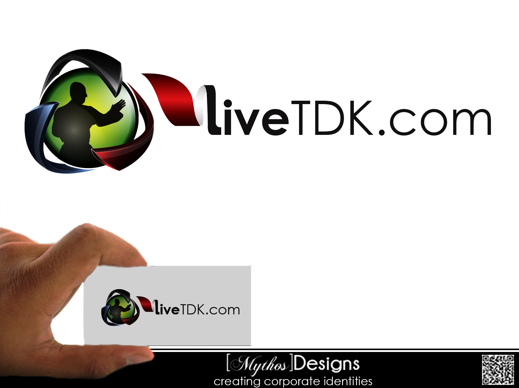 Logo Design by Mythos Designs - Entry No. 4 in the Logo Design Contest New Logo Design for LiveTKD.com.