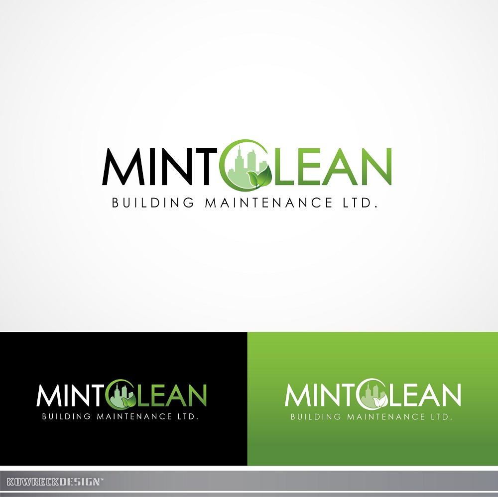Logo Design by kowreck - Entry No. 125 in the Logo Design Contest MintClean Building Maintenance Ltd. Logo Design.