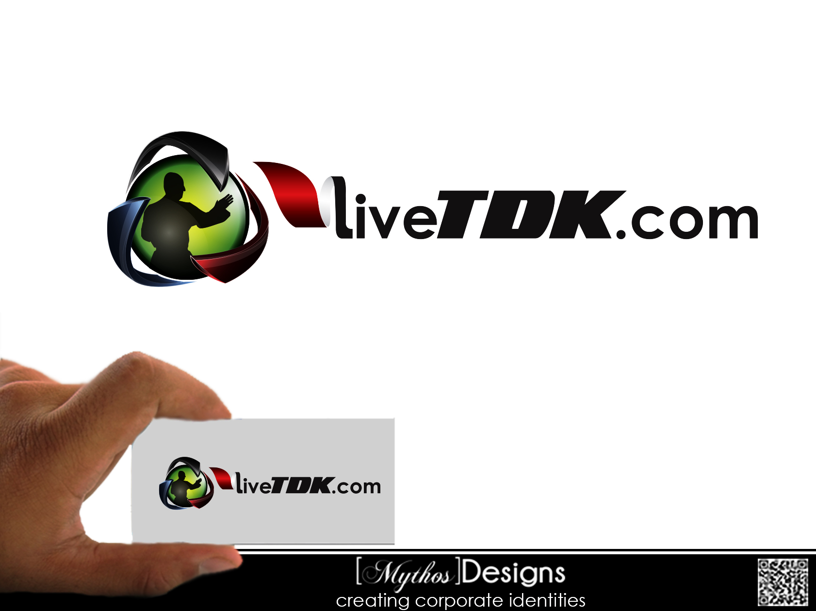 Logo Design by Mythos Designs - Entry No. 5 in the Logo Design Contest New Logo Design for LiveTKD.com.