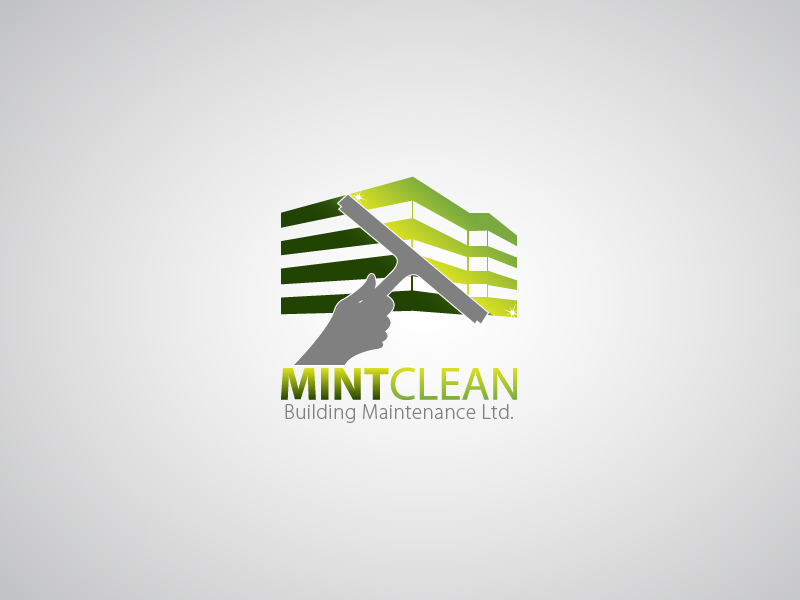 Logo Design by Hafeez Shamsuddin - Entry No. 127 in the Logo Design Contest MintClean Building Maintenance Ltd. Logo Design.
