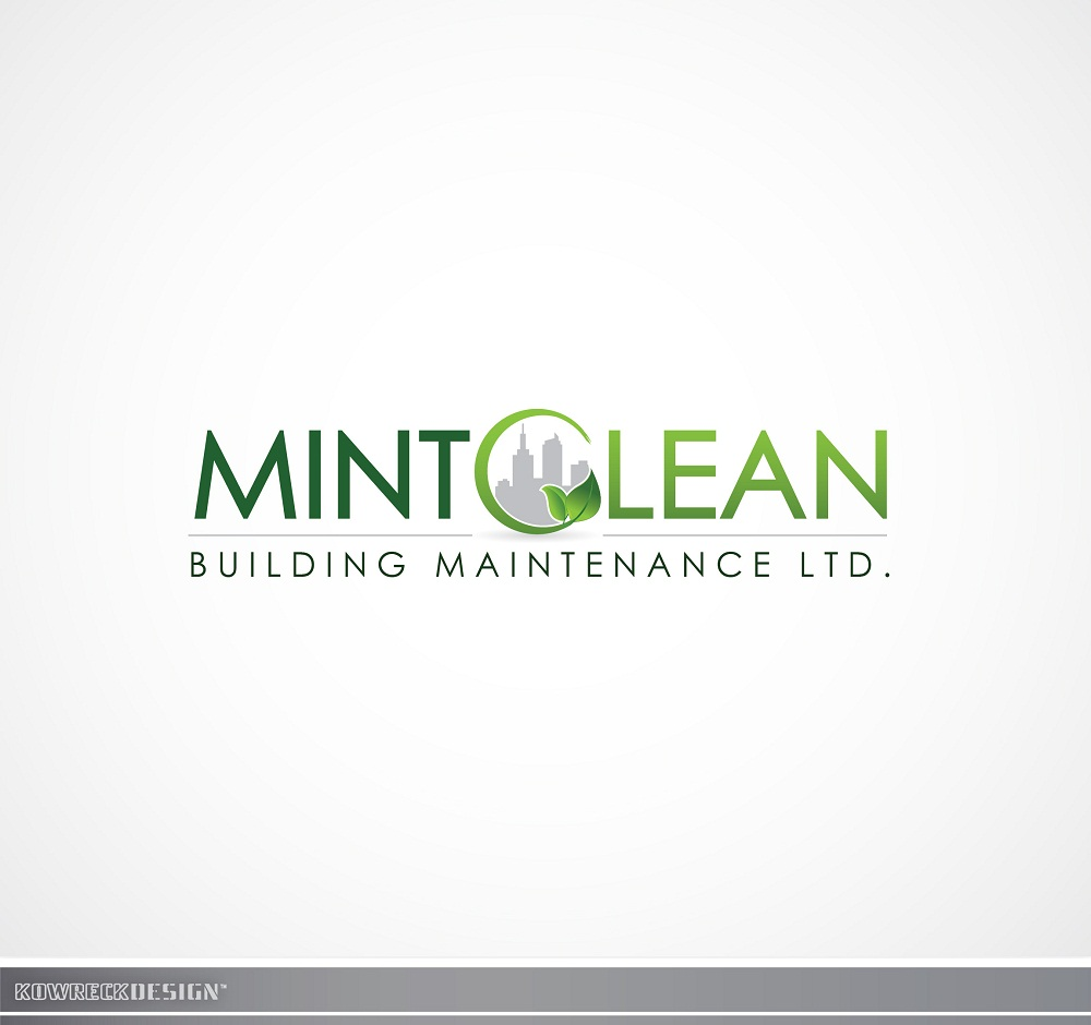 Logo Design by kowreck - Entry No. 129 in the Logo Design Contest MintClean Building Maintenance Ltd. Logo Design.