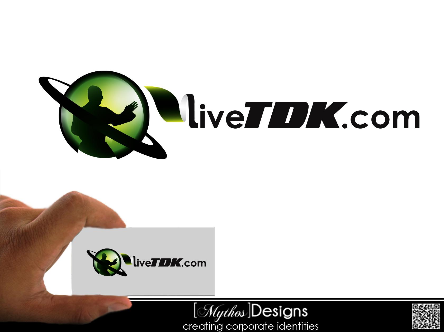 Logo Design by Mythos Designs - Entry No. 6 in the Logo Design Contest New Logo Design for LiveTKD.com.