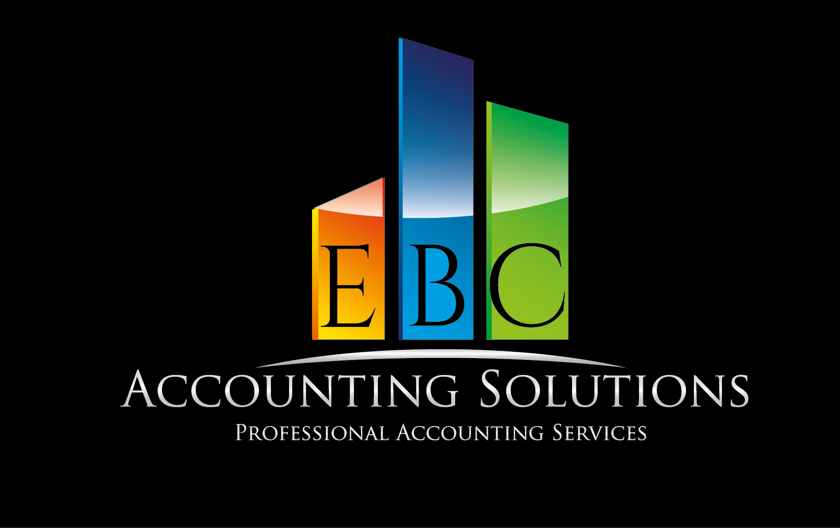 Logo Design by VENTSISLAV KOVACHEV - Entry No. 13 in the Logo Design Contest New Logo Design for EBC Accounting Solutions.
