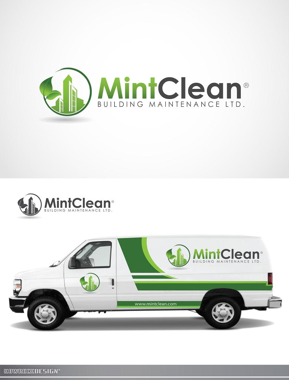 Logo Design by kowreck - Entry No. 131 in the Logo Design Contest MintClean Building Maintenance Ltd. Logo Design.