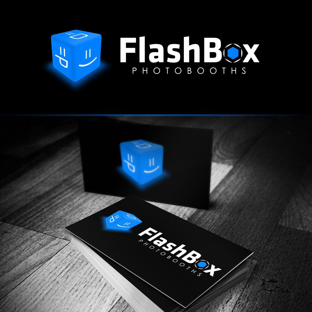Logo Design by omARTist - Entry No. 108 in the Logo Design Contest New Logo Design for FlashBox Photobooths.