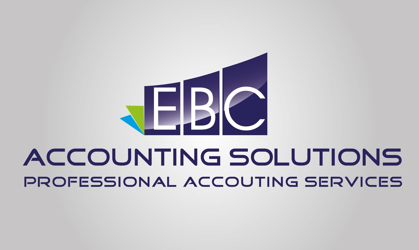 Logo Design by VENTSISLAV KOVACHEV - Entry No. 19 in the Logo Design Contest New Logo Design for EBC Accounting Solutions.