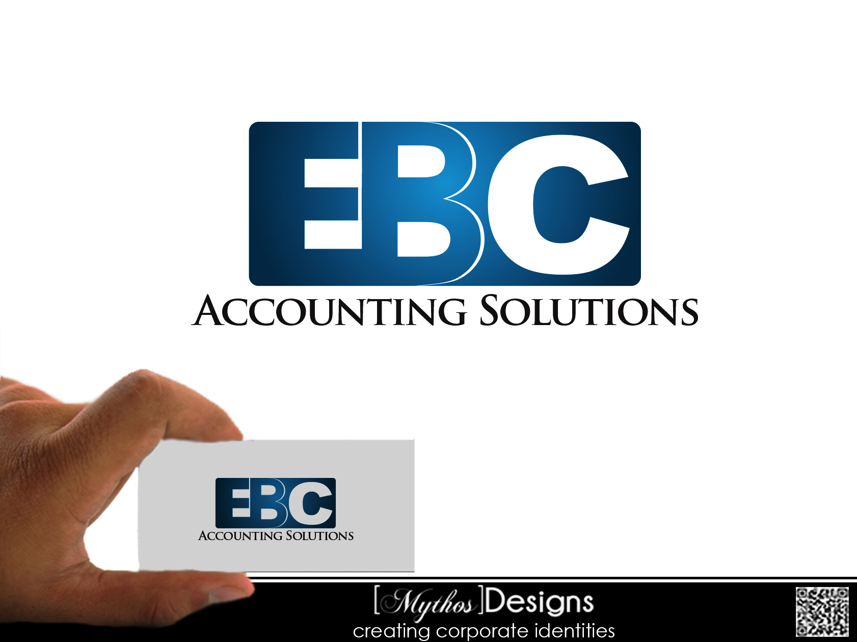 Logo Design by Mythos Designs - Entry No. 23 in the Logo Design Contest New Logo Design for EBC Accounting Solutions.