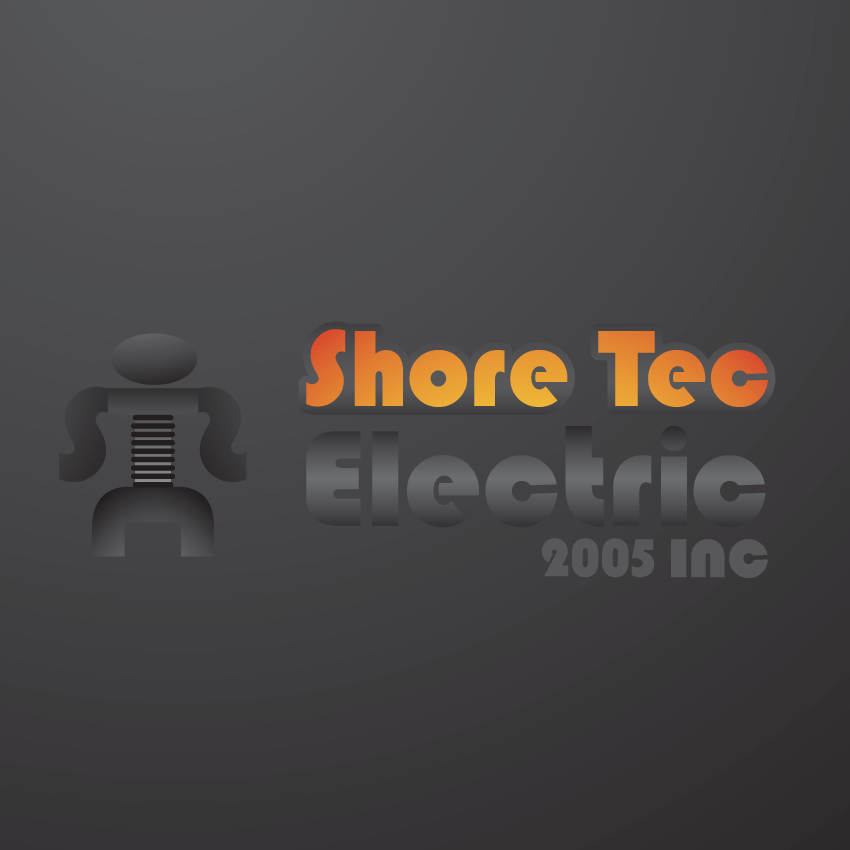 Logo Design by Marzac2 - Entry No. 104 in the Logo Design Contest Shore Tec Electric 2005 Inc.