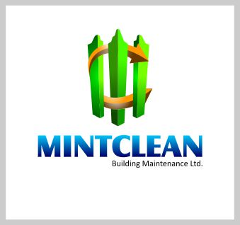 Logo Design by brown_hair - Entry No. 134 in the Logo Design Contest MintClean Building Maintenance Ltd. Logo Design.