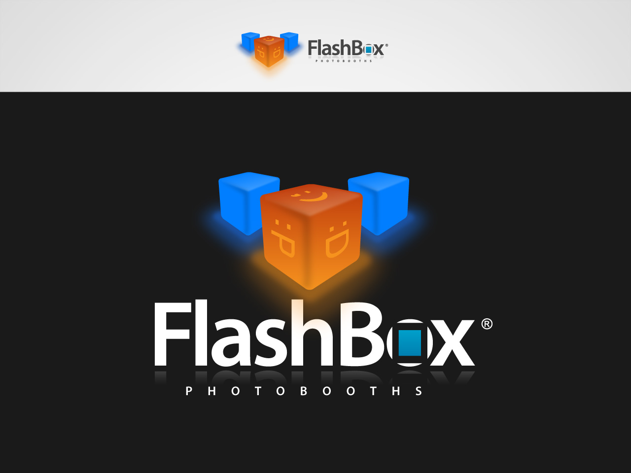 Logo Design by jpbituin - Entry No. 122 in the Logo Design Contest New Logo Design for FlashBox Photobooths.