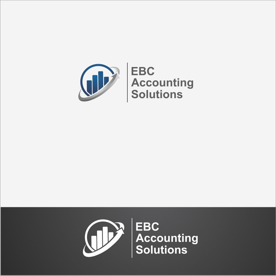 Logo Design by DENOK - Entry No. 25 in the Logo Design Contest New Logo Design for EBC Accounting Solutions.