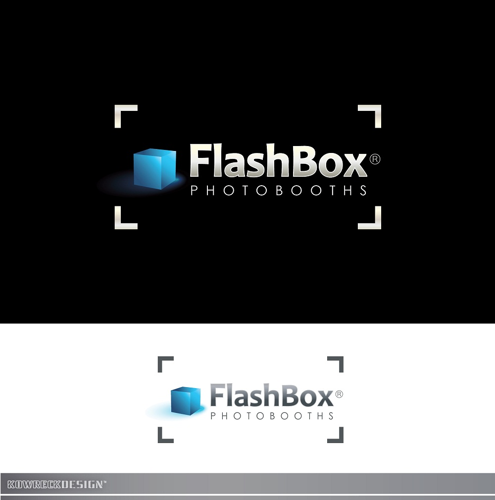 Logo Design by kowreck - Entry No. 124 in the Logo Design Contest New Logo Design for FlashBox Photobooths.