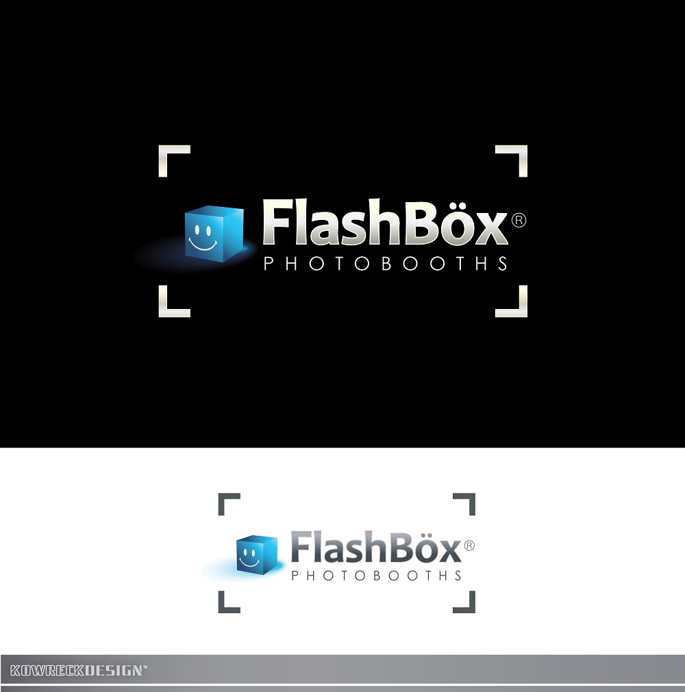Logo Design by kowreck - Entry No. 126 in the Logo Design Contest New Logo Design for FlashBox Photobooths.