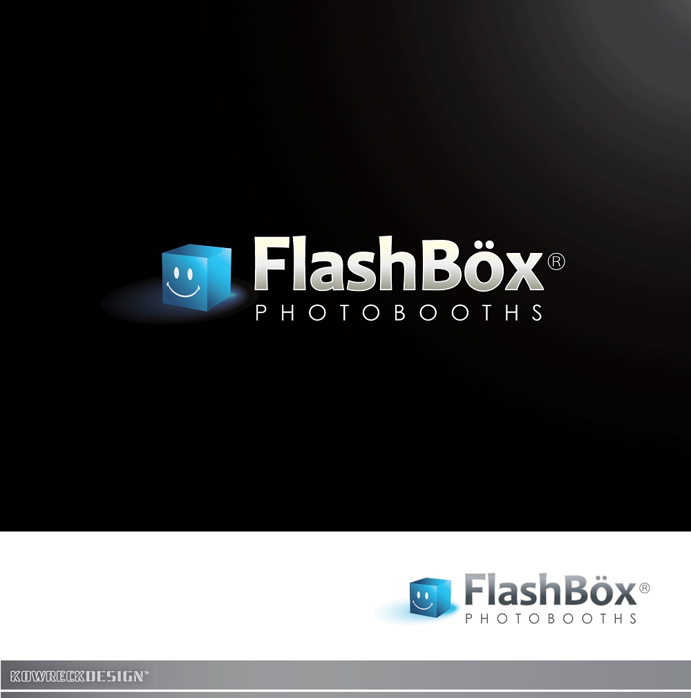 Logo Design by kowreck - Entry No. 128 in the Logo Design Contest New Logo Design for FlashBox Photobooths.