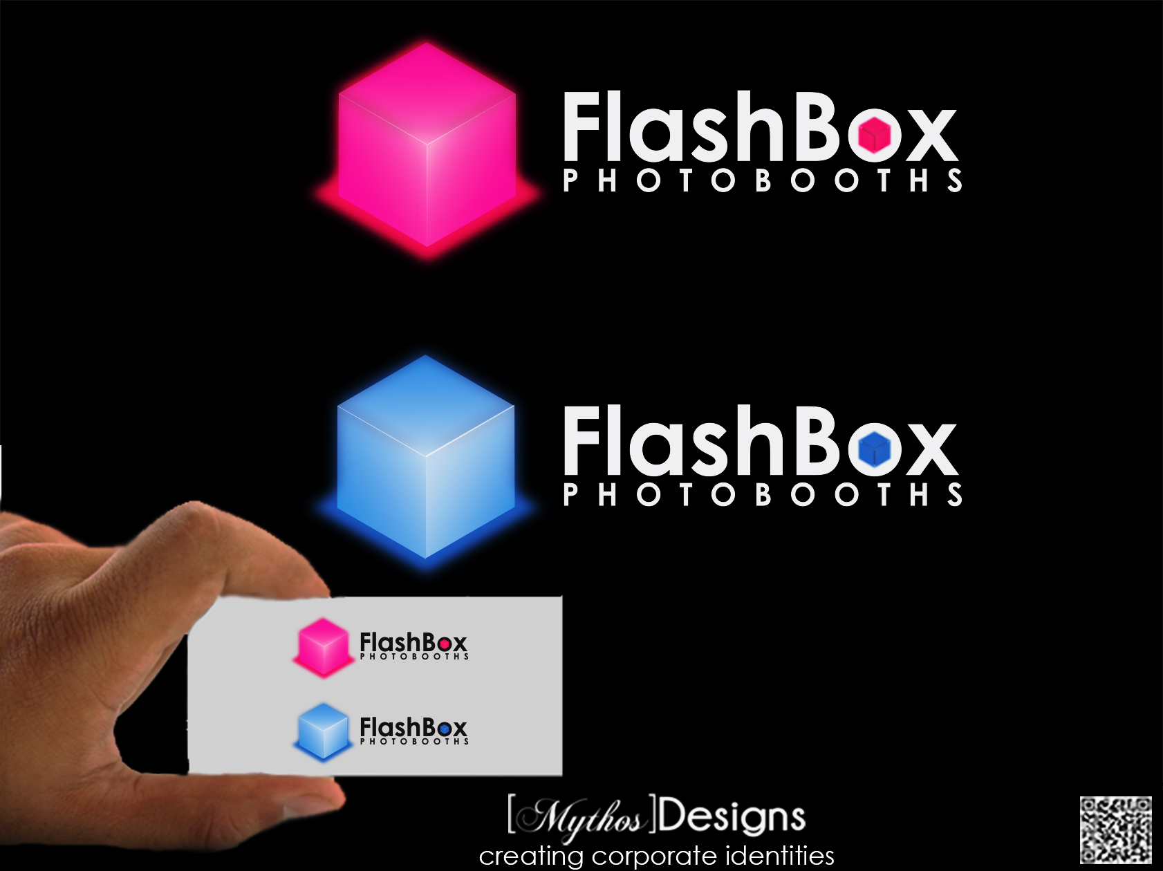 Logo Design by Mythos Designs - Entry No. 131 in the Logo Design Contest New Logo Design for FlashBox Photobooths.