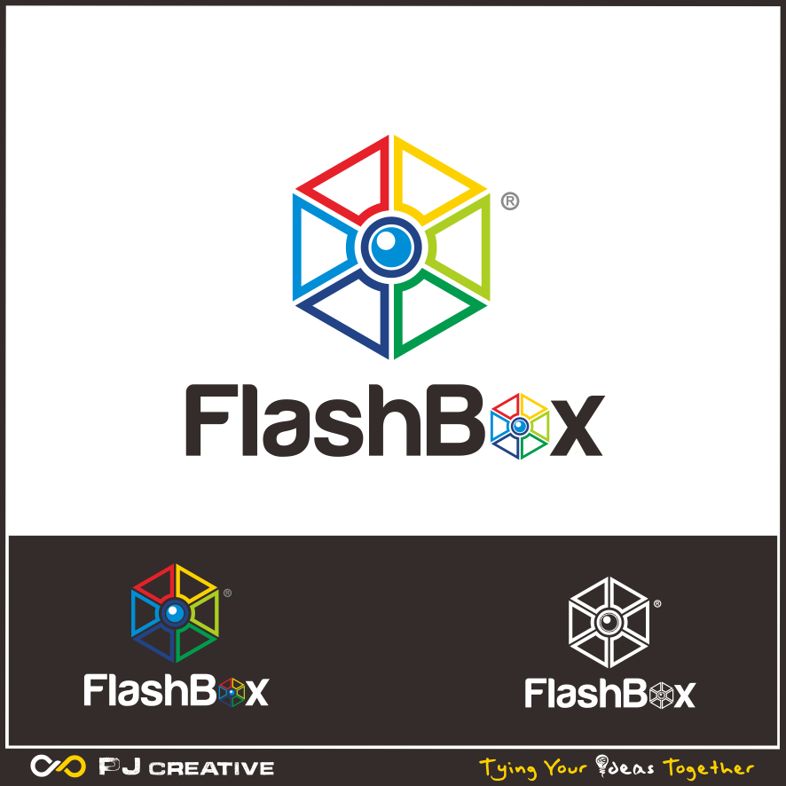 Logo Design by PJD - Entry No. 133 in the Logo Design Contest New Logo Design for FlashBox Photobooths.
