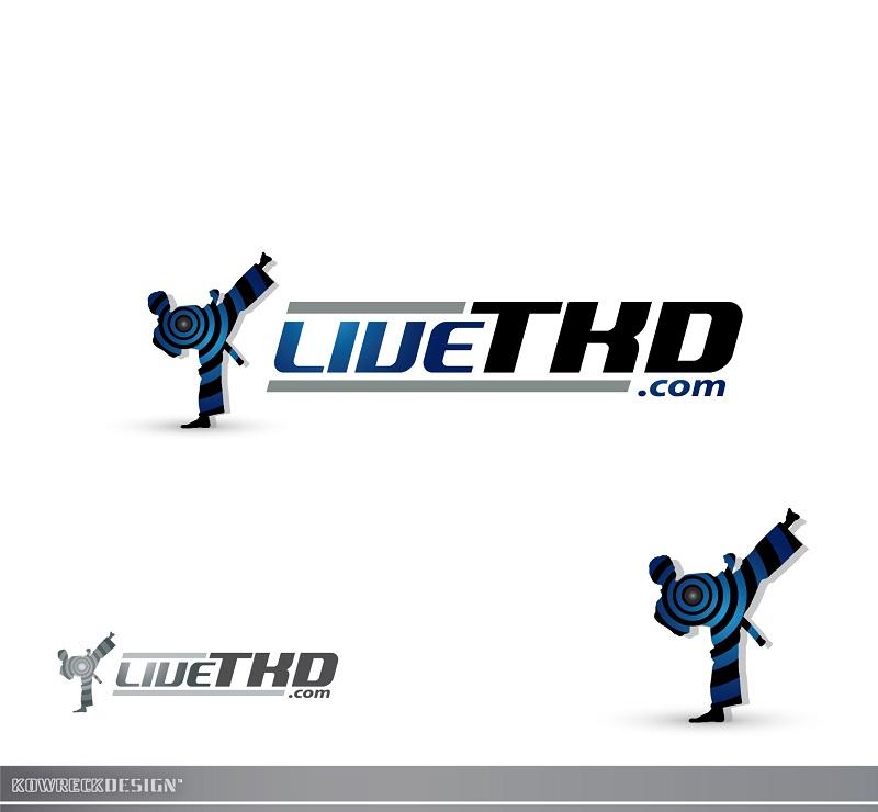 Logo Design by kowreck - Entry No. 15 in the Logo Design Contest New Logo Design for LiveTKD.com.