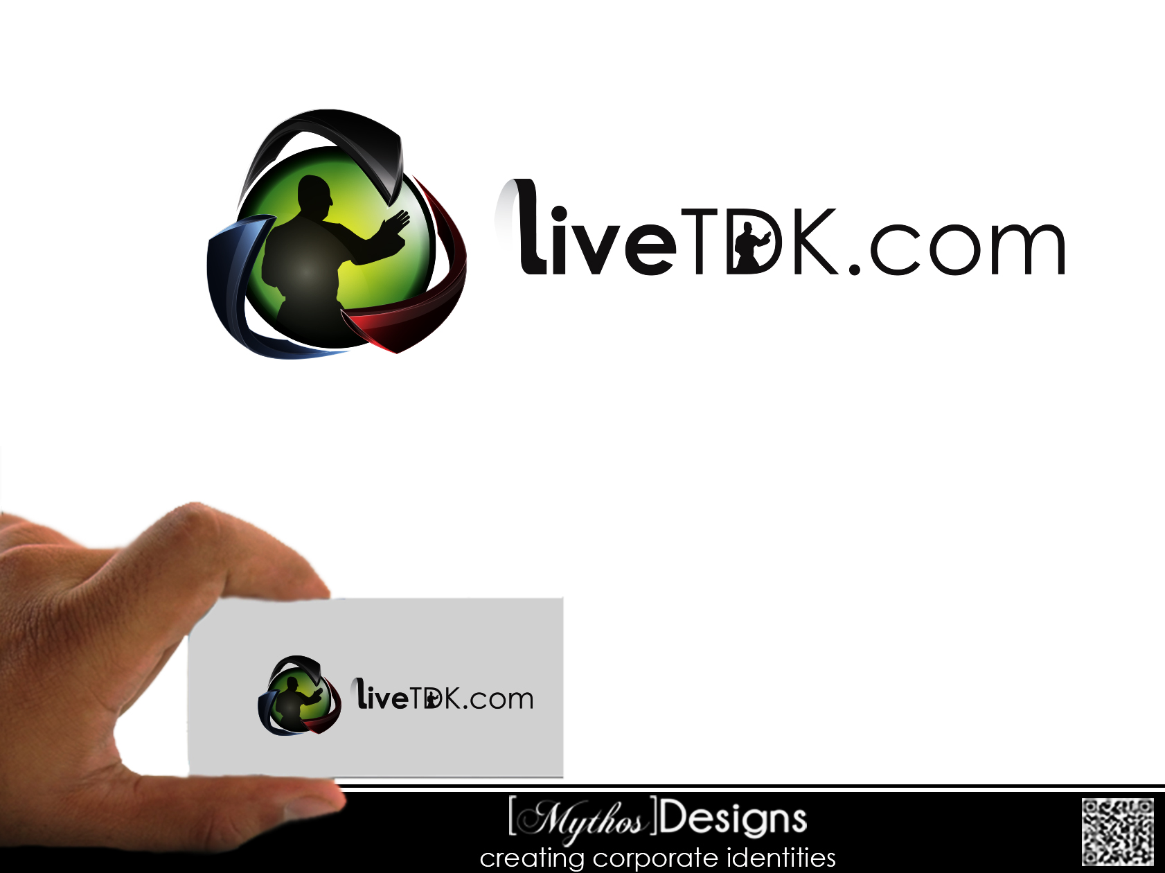 Logo Design by Mythos Designs - Entry No. 17 in the Logo Design Contest New Logo Design for LiveTKD.com.