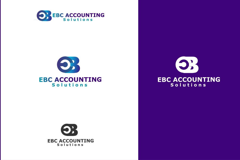 Logo Design by Private User - Entry No. 29 in the Logo Design Contest New Logo Design for EBC Accounting Solutions.