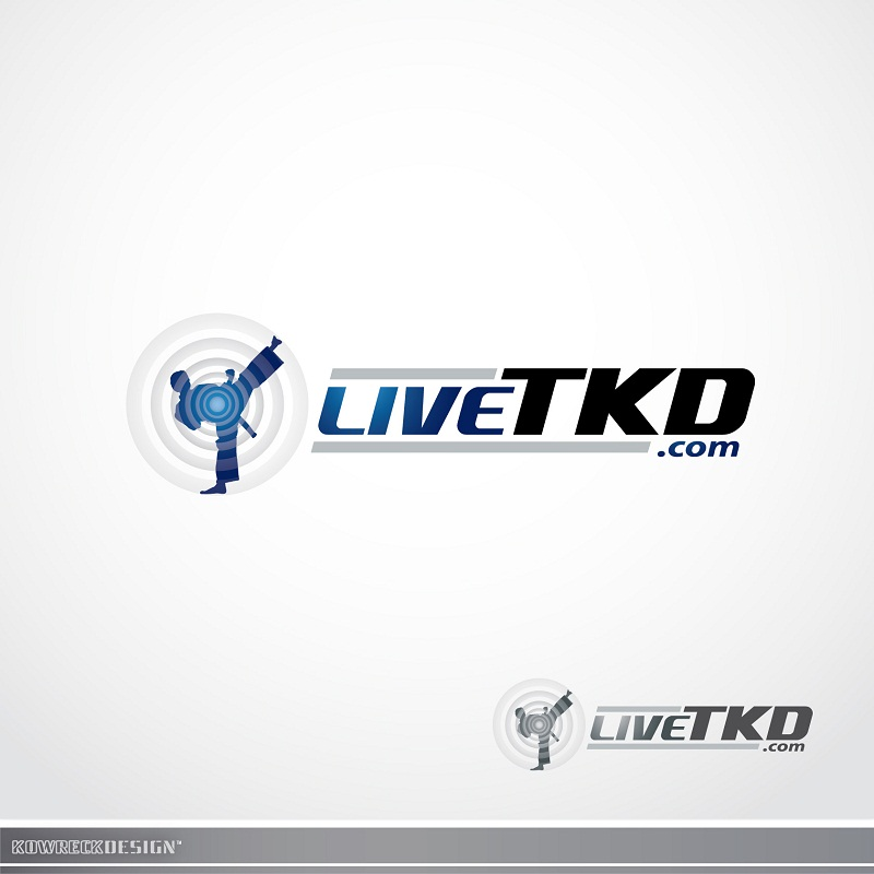 Logo Design by kowreck - Entry No. 20 in the Logo Design Contest New Logo Design for LiveTKD.com.