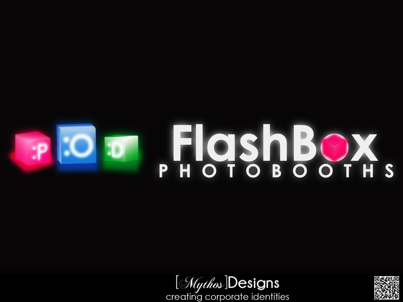 Logo Design by Mythos Designs - Entry No. 144 in the Logo Design Contest New Logo Design for FlashBox Photobooths.