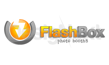 Logo Design by Mobin Asghar - Entry No. 156 in the Logo Design Contest New Logo Design for FlashBox Photobooths.