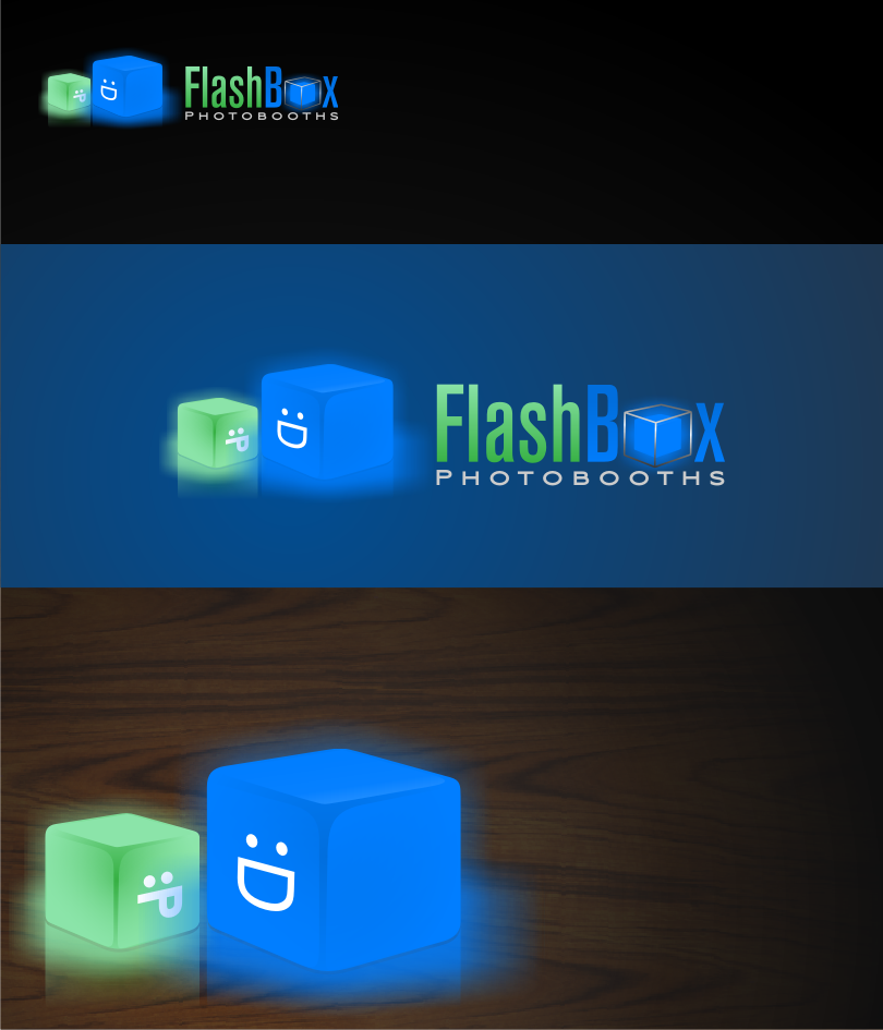 Logo Design by graphicleaf - Entry No. 159 in the Logo Design Contest New Logo Design for FlashBox Photobooths.