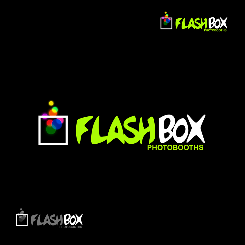 Logo Design by Robert Turla - Entry No. 161 in the Logo Design Contest New Logo Design for FlashBox Photobooths.