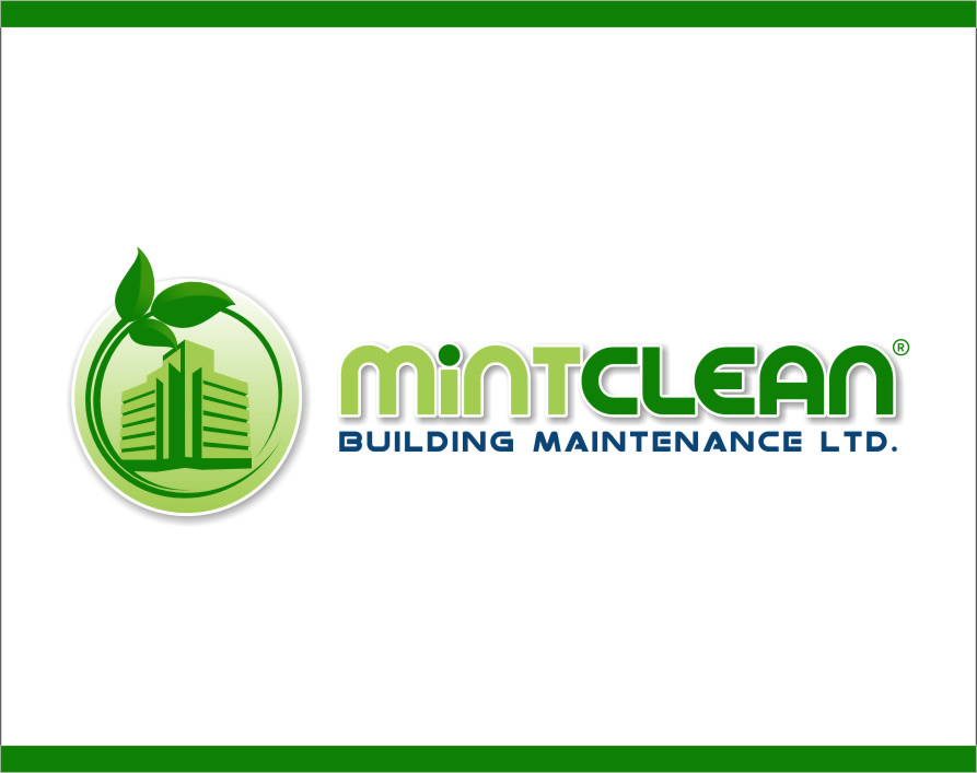 Logo Design by RasYa Muhammad Athaya - Entry No. 142 in the Logo Design Contest MintClean Building Maintenance Ltd. Logo Design.