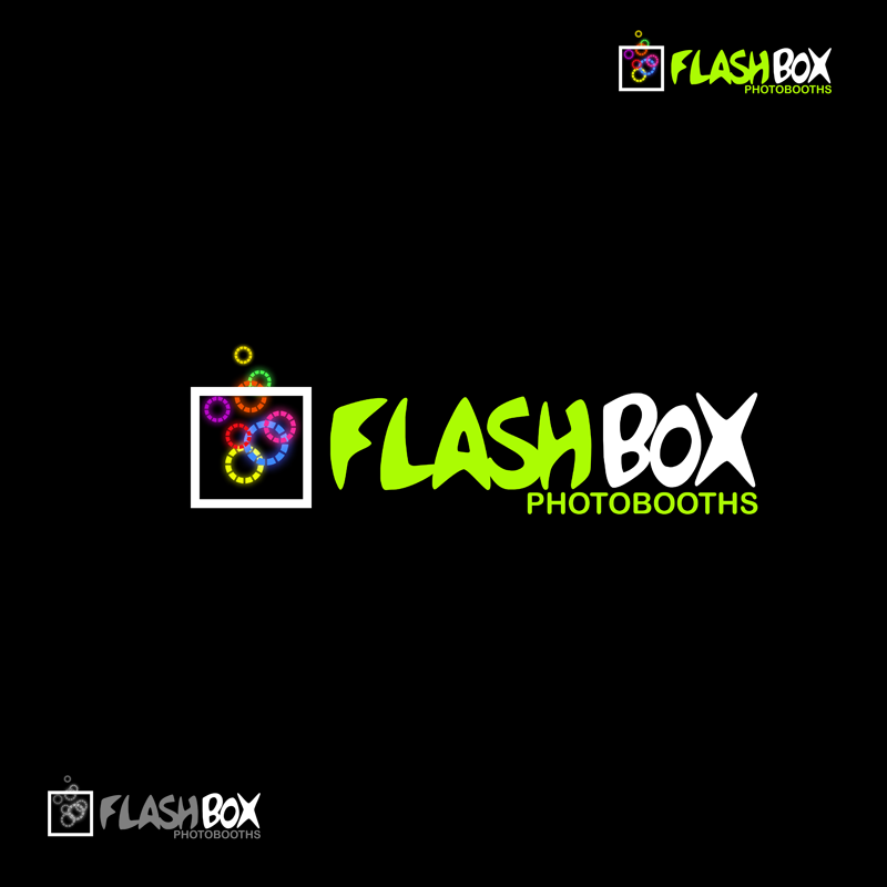 Logo Design by Private User - Entry No. 162 in the Logo Design Contest New Logo Design for FlashBox Photobooths.