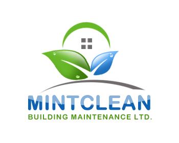 Logo Design by Crystal Desizns - Entry No. 146 in the Logo Design Contest MintClean Building Maintenance Ltd. Logo Design.