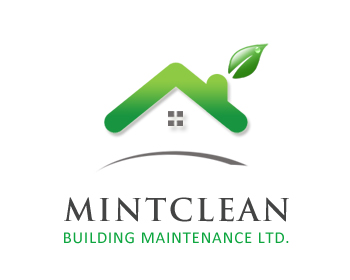 Logo Design by Crystal Desizns - Entry No. 147 in the Logo Design Contest MintClean Building Maintenance Ltd. Logo Design.