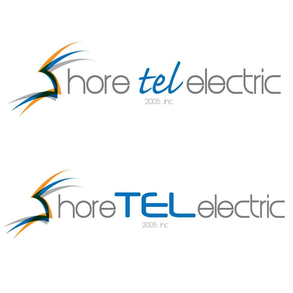 Logo Design by dada45 - Entry No. 107 in the Logo Design Contest Shore Tec Electric 2005 Inc.