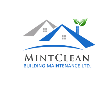 Logo Design by Crystal Desizns - Entry No. 149 in the Logo Design Contest MintClean Building Maintenance Ltd. Logo Design.