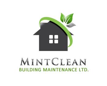 Logo Design by Crystal Desizns - Entry No. 150 in the Logo Design Contest MintClean Building Maintenance Ltd. Logo Design.