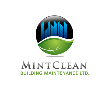 Logo Design by Crystal Desizns - Entry No. 151 in the Logo Design Contest MintClean Building Maintenance Ltd. Logo Design.