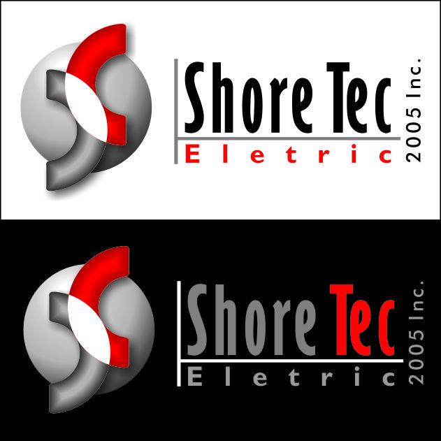 Logo Design by Ernani-Bernardo - Entry No. 108 in the Logo Design Contest Shore Tec Electric 2005 Inc.