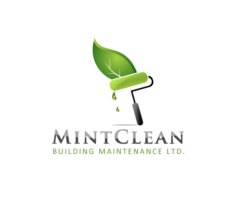 Logo Design by Crystal Desizns - Entry No. 152 in the Logo Design Contest MintClean Building Maintenance Ltd. Logo Design.
