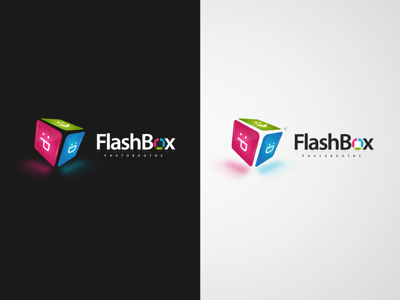 Logo Design by jpbituin - Entry No. 169 in the Logo Design Contest New Logo Design for FlashBox Photobooths.