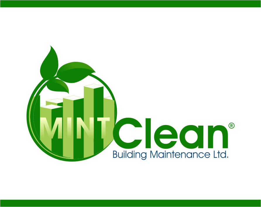 Logo Design by RoSyid Rono-Rene On Java - Entry No. 154 in the Logo Design Contest MintClean Building Maintenance Ltd. Logo Design.