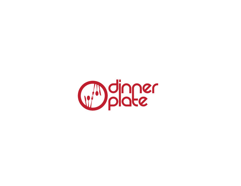 Logo Design by Mahir Hamzic - Entry No. 4 in the Logo Design Contest Imaginative Logo Design for Dinner Plate.