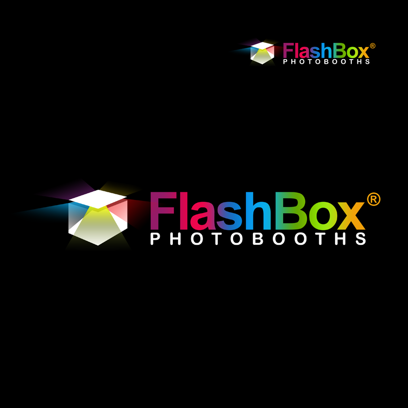 Logo Design by Robert Turla - Entry No. 170 in the Logo Design Contest New Logo Design for FlashBox Photobooths.