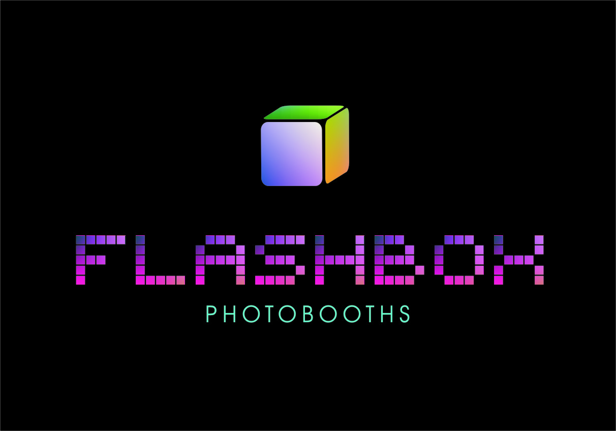 Logo Design by Ngepet_art - Entry No. 173 in the Logo Design Contest New Logo Design for FlashBox Photobooths.